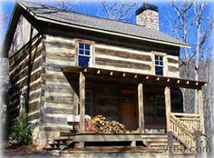 Old Cabins | Large chestnut beauty recovered from West Virginia and now located in ...