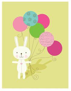 Bunny Loves Balloons