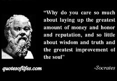Discover and share Socrates Quotes About Wisdom. Explore our collection of motivational and famous quotes by authors you know and love. Socrates Quotes, Death Quotes, Quotable Quotes, Wisdom Quotes, Me Quotes, Motivational Quotes, Inspirational Quotes, Positive Quotes, Qoutes