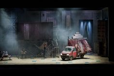 Sweeney Todd. Welsh National Opera. Scenic design by Colin Richmond.