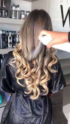 #hair #dubai #fashion #style #love #beauty #uae #hairstyles #haircut #haircolor #makeup #mydubai #instagood #hairstyle #model #photooftheday #pretty #cute #abudhabi #beautiful #girl #cool #smile #me #friends #swag #followme #lebanon #girls #salon Down Hairstyles For Long Hair, Curled Hairstyles, Bride Hairstyles, Hair Up Styles, Long Hair Wedding Styles, Curl Styles, Brown Hair Balayage, Hair Color Balayage, Hair Color Streaks