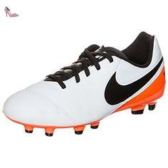Nike Jr Tiempo Legend VI FG, Chaussures de Football Mixte Bébé, 38 1/