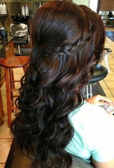 Superb 1000 Images About Quinceanera Hairstyles On Pinterest Short Hairstyles For Black Women Fulllsitofus
