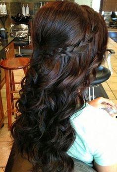 Strange 1000 Images About Quinceanera Hairstyles On Pinterest Short Hairstyles Gunalazisus