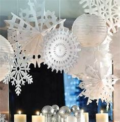 #winter #party #decorations  http://www.thepartywareshop.com/christmas-parties-1232-c.asp