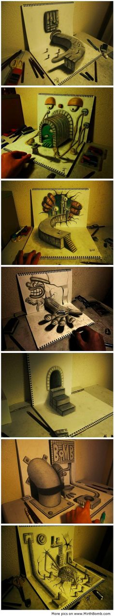 awesome Drawing skills : Unreal