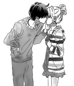 760 Likes, 3 Comments - Cute posts with Quotes Manga Anime, Anime Couples Manga, Cute Anime Couples, Manga Love, Anime Love, Image Couple, Couple Art, Couple Manga, Cute Couple Drawings
