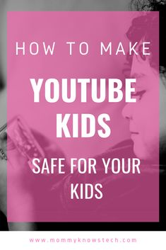 It's screen time again and your kids want a YouTube video... YouTube   Kids is a good option for filtering out some of the nonsense on YouTube,   but are the settings you're using safe? Here's how to make sure. Teaching Technology, Teaching Biology, Internet Safety For Kids, Staying Safe Online, Parental Control, Environmental Science, Kids Online, Life Science, Books Online