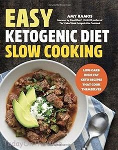 These keto slow cooker recipes make life on a low carb, high fat way of eating just a little easier. Fix it and forget it with slow cooker keto recipes! Diet Ketogenik, Keto Diet Plan, Diet Meal Plans, Low Carb Diet, Diet Meals, Paleo Meals, Meal Prep, Atkins Diet, Week Diet