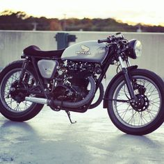 Get my motorcycle license and get a motorcycle... one day.   Honda CB450