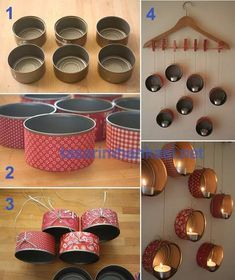 Imagem de diy, Easy, and hangers Easy Craft Projects, Craft Work, Easy Crafts, Diy Canvas Art, Diy Wall Art, Christmas Candle Centerpieces, Diy Wanddekorationen, Wooden Snowflakes, Christmas Ad