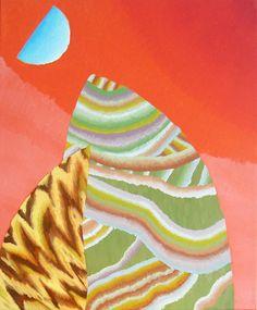 Amber Wilson, Tremulous Rampage, Oil on canvas Nz Art, Oil On Canvas, Amber, Brain, Paintings, Drawings, Artist, Painting Art, The Brain