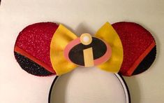Incredibles Inspired Minnie Mouse Disney Ears