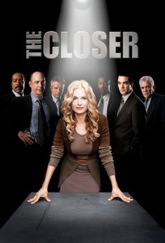 The Closer. I miss this show!!!! There is this cashier at work who says Thank you exactly like Brenda.