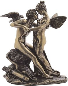 Cupid and Psyche Lovers Sculpture Statuary available at AllSculptures.com