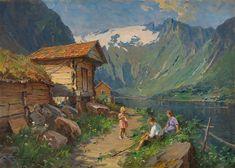 Even Ulving 1863-1952: Fra Balestrand