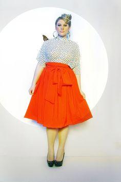 amazing plus size skirt.