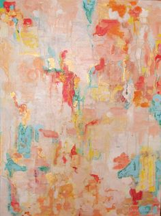 Art Original Abstract Painting Abstract Art by WReynoldsOrr, $575.00