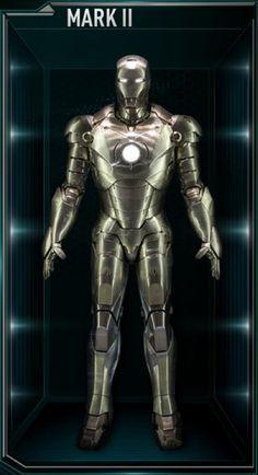 Iron Man Hall of Armors: MARK II