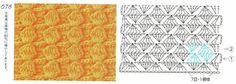 Sa invatam sa crosetam si sa tricotam: modele crosetate- scheme si video, Crochet Patterns