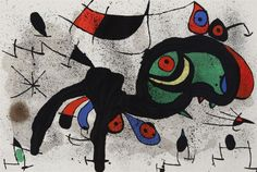 Joan Miro, Spanish (1893-1983), From: Derriere le Mirroir, c