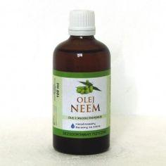 Naturalny Olej Neem nierafinowany, zimnotłoczony Olej z miodli indyjskiej tłoczony na zimno