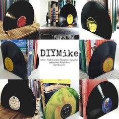 🔵Vinyl Record Bookends - Vintage Bookends for the music enthusiast add charm & warmth to any room.   🔵Two warm and charming design styles to choose from, Vinyl Record Bookends are great for just about anywhere you would like to keep books.  @DIYMikes #DIYMikes #homedecor #Gifts #XmasGift #mom #homedecorideas #interiordesign #instahomedecor #bookends #diyhomedecor #love #myhomedecor #homedecorate #interiordecorating #retrobookends #modernbookends #modernhomedecor #vinyl #bookend…