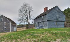 McIntyre Garrison House built in 1640, York Maine