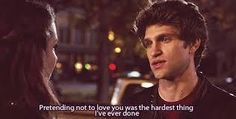 Spencer and Toby are the cutest couple on the Popular ABC Family show Pretty Little Liars. Here are the reasons why you should ship them. Loving Someone You Can't Have, Loving Someone Quotes, Love You, Quotes Gif, Tv Show Quotes, Quotes Images, Movie Quotes, Spencer Y Toby, Spencer Pll