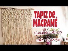 Tapiz de MACRAMÉ, Cabecero de cama de Macramé, Decoración del hogar, home decor boho Chic, DIY BOHO - YouTube