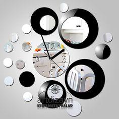 reloj pared relojes reloj de pared de espejo relojes de pared modernos paredes de espejo decoracin de la pared moderna espejos decorativos