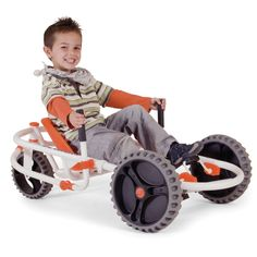 Im sorry....but this is cool! The Lever Steering Pedal Go Kart - Hammacher Schlemmer