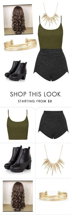"""A Bit Of A Mix"" by savannahloire ❤ liked on Polyvore featuring Topshop, Oh My Love, Alexis Bittar and Stella & Dot"