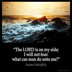Inspirational Images About Fear and encouraging Bible verses from the King James Bible Bible Verses Kjv, King James Bible Verses, Biblical Quotes, Favorite Bible Verses, Religious Quotes, Bible Verses Quotes, Spiritual Quotes, Bible Psalms, Scripture Cards