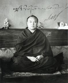 """""""Never stop the search for the ultimate truth, but frighten not, if you've found it then!""""  """"Höre niemals mit der Suche nach der letztendlichen Wahrheit auf, aber ängstige nicht, wenn du sie dann gefunden hast!""""  H.H. 16. Gyalwa Karmapa Rangjung Rigpe Dorje"""
