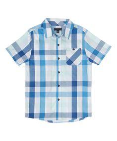 0b76e453ab Boys French Toast Plaid Button-Down Shirt