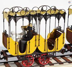 Holzbausatz SAXONIA aus der Manufaktur DAMASU - Holzkunst.