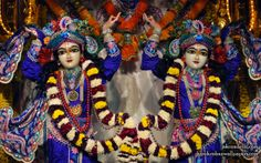 To view Gaura Nitai Close Up Wallpaper of ISKCON Dellhi in difference sizes visit - http://harekrishnawallpapers.com/sri-sri-gaura-nitai-close-up-iskcon-delhi-wallpaper-006/