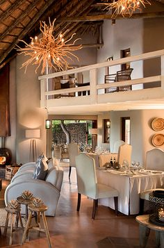 Lelapa Indoor Dining Room | Africa