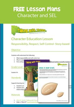 Each free printable lesson plan links to stories and worksheets that help teach kids lessons on honesty, respect, responsibility and more good character traits. Great for character education lessons. Education Quotes For Teachers, Education College, Quotes For Students, Elementary Education, Character Education Lessons, Education English, Lessons For Kids, Educational Technology, Lesson Plans