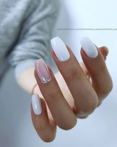 In look for some nail designs and some ideas for your nails? Here is our listing of must-try coffin acrylic nails for fashionable women. Cute Acrylic Nails, Acrylic Nail Designs, Nail Art Designs, Nails Design, Classy Nails, Stylish Nails, New Year's Nails, Diy Nails, New Years Nail Art