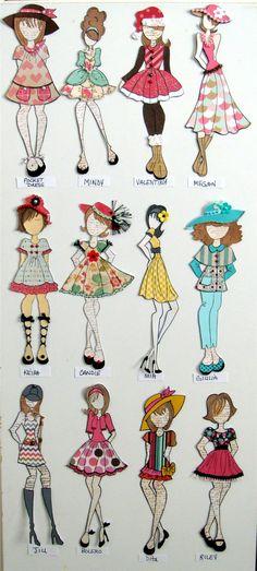 12 dolls - Scrapbook.com