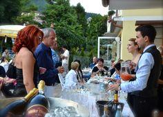 Dolomiti's pool party