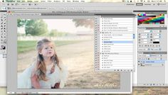 Photoshop Tutorial - Use Two Photos to Get the One You Want by Dear Lillie