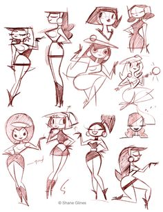 Shane Glines part I - Character Design Page