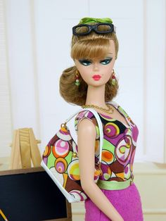 ~Big Bang~OOAK Teacher Fashion for Silkstone/Vintage Barbie~Joby Originals