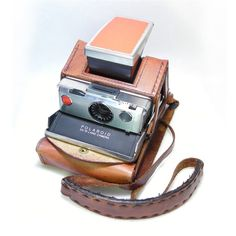 Perfectly Restored Polaroid Original SX-70 with Ever Ready case.
