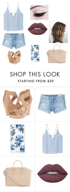 """""""Untitled #124"""" by rebeccaball37 on Polyvore featuring Jessica Simpson, rag & bone/JEAN, Sonix, MANGO, Givenchy and Lime Crime"""