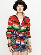 FreePeople Mexican blanket jacket. $296.84