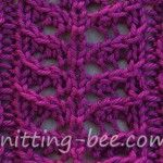 Free Branch Lace Knitting Stitch Pattern